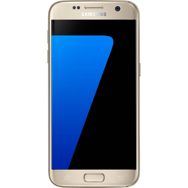 Samsung - Galaxy S7 Flat 32Go Or