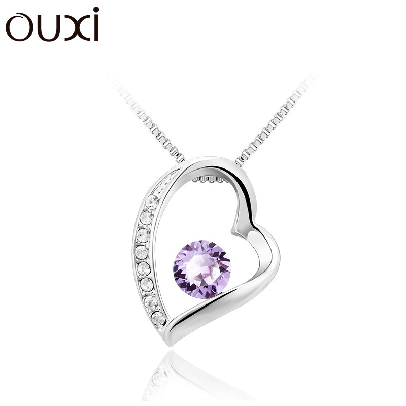 Ouxi - Collier SWAROVSKI ELEMENTS 10614-1 - Violet